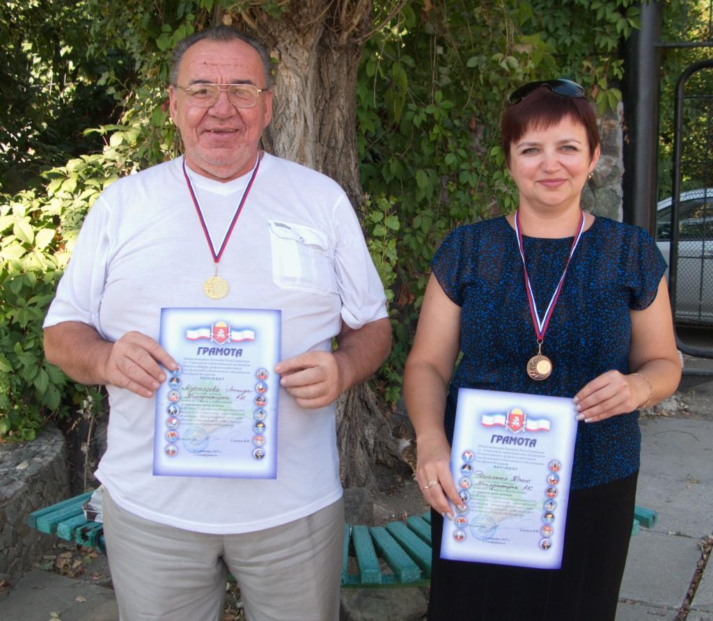Мухтаров Леонид и Романенко Юлия